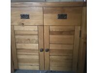 Large dinning table and matching sideboard