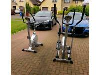 Bodymax xtrainer and bike