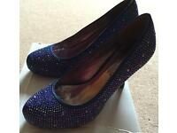 Stunning BNIB Anne Michelle Sparkly Shoes
