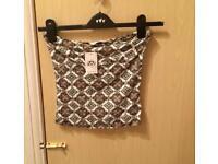Brand new miss selfridge strapless top