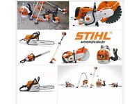 Wanted stihl chainsaw cutter blower for cash
