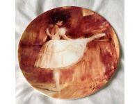 The Ballet Barre by Danbury Mint Collectors Plate