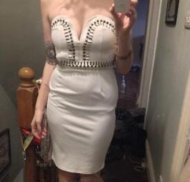 Missguided White dress 10