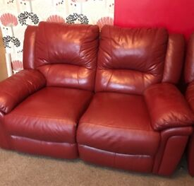 2 seater and 3 seater recliner sofas