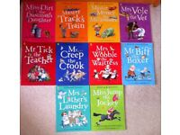 Allan Ahlberg Happy Families Collection 10 Books Set