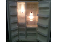 White, A Class SAMSUNG Frost Free American Side by Side Fridge Freezer For Sale