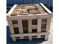 Wholesale firewood: crates of kiln dried hardwood logs - UK mainland delivery (exc. Highlands)