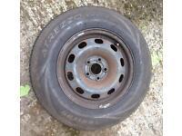 "14"" 5x100 Steel Wheel / Spare Wheel"