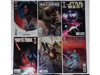 6 Assorted Star Wars Marvel Comics