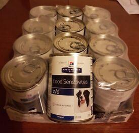 Hill's Z/D Prescription Diet - 12 x 370g cans