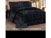 Beautiful bedspread and pillows