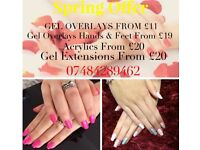 Mobile Nail Technician, gel nails, opi, cnd, gelish, gel extensions, acrylic + builder hard gel