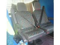 Mercedes-Benz vito rear seats 2002 removable