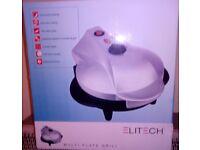Brand New Elitech Multi Plate Grill