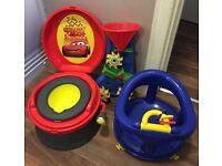Cars Potty, Bath Seat & Bath Toy