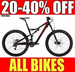 BIKESPORTS - 20-40% OFF! BRAND NEW! Specialized & Giant Mountain MTB and Fat Bikes!