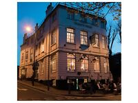 Commis Chef wanted for Dukes Head Putney SW London - Tips included