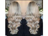 Blush Hair Extensions £220 Russian salvic Virgin Hair All Methods Free Removal