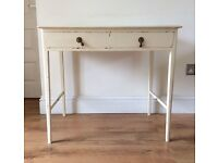 Shabby Chic Dressing Table / Desk with two drawers