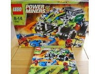 LEGO POWER MINERS: 8190 CLAW CATCHER & 8960 THUNDER DRILLER