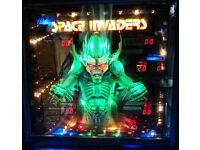 Space Invaders Pinball - Refurbished With LED's and new Electronics etc. and FULLY functional