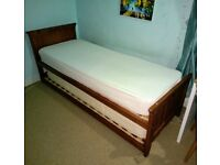 M&S Wooden Guest Bed