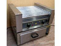 Hot dog roller grill + Bun oven