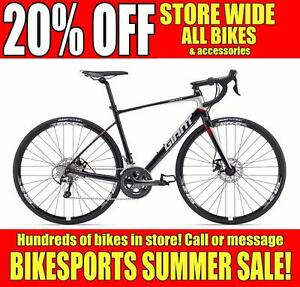 BIKESPORTS - 20% OFF! BRAND NEW! Specialized and Giant Road Bikes!