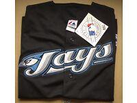 Authentic XL Toronto Blue Jays short sleeve jersey. Baseball