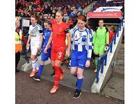 Crosby Stuart Girls U16 Football Team. New Players Wanted.