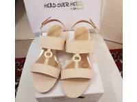 Dune sandals sz 7