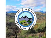 La Pena Mountain Cabins - Andalucia, Southern Spain: Plots/Land For Sale and To Let