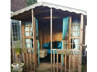 Wooden outdoor playhouse/Summer House