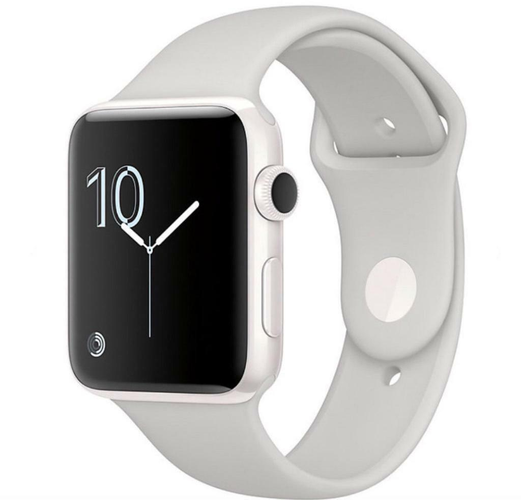 Apple Watch Edition 42mm White Ceramic Case with Sport Bandin Heathrow, LondonGumtree - Selling a new Apple Watch Edition 42mm White Ceramic Case with Sport Band Apple Store RRP £1299 This is the 42MM CERAMIC Apple watch not like the other cheap looking ones I am selling for £975 unwanted birthday gift Cash on collection 07487363437