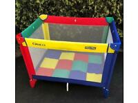 Greco travel Cot and play pen