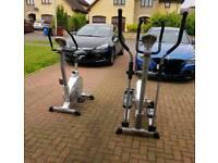 Boxymax xtrainer and bike