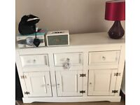 Pine tv unit and sideboard