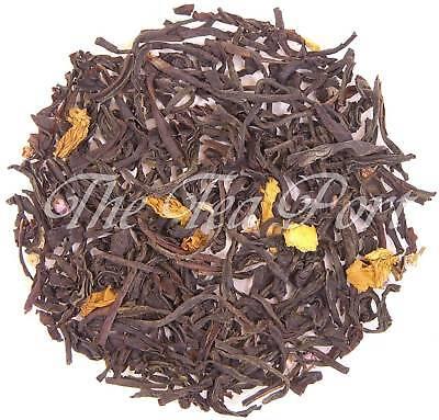 Caramel Cherry Loose Leaf Flavored Black Tea - 1 - Cherry Flavored Loose Leaf