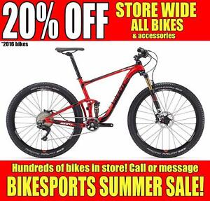 BIKESPORTS - 20% OFF! BRAND NEW! Specialized & Giant Mountain MTB and Fat Bikes!