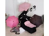 Beautiful bugaboo buffalo in great condition soft pink or black