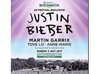 Barclaycard Presents British Summer Tome with Justin Bieber