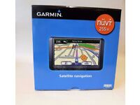 Garmin Nuvi 255W GPS satnav - UK and Europe