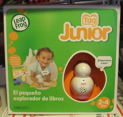 Leap Frog Tag Junior Reading Learning System With Book  2 4   Spanish Version