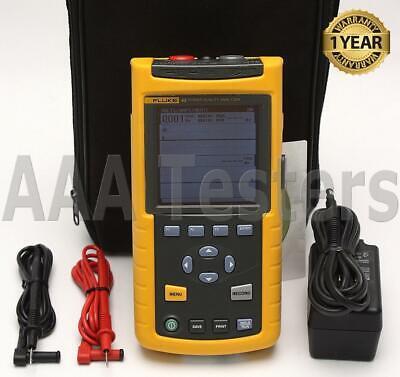 Fluke 43 Handheld Power Quality Analyzer Meter