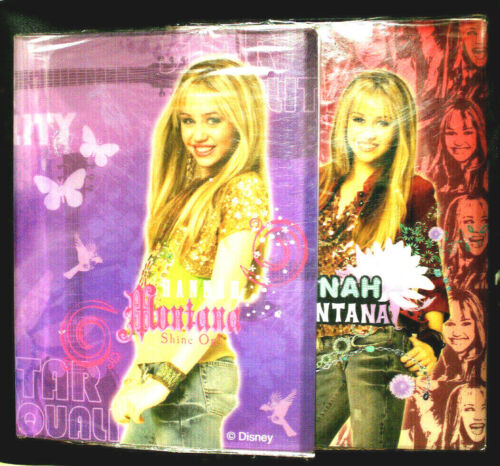 Disney HANNAH MONTANA Holder Lot of 2 Pieces Size-12x9 inches