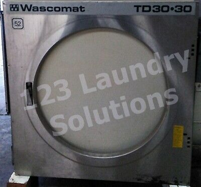 Front Upper Panel For Wascomat Td30x30 Stack Dryer Used