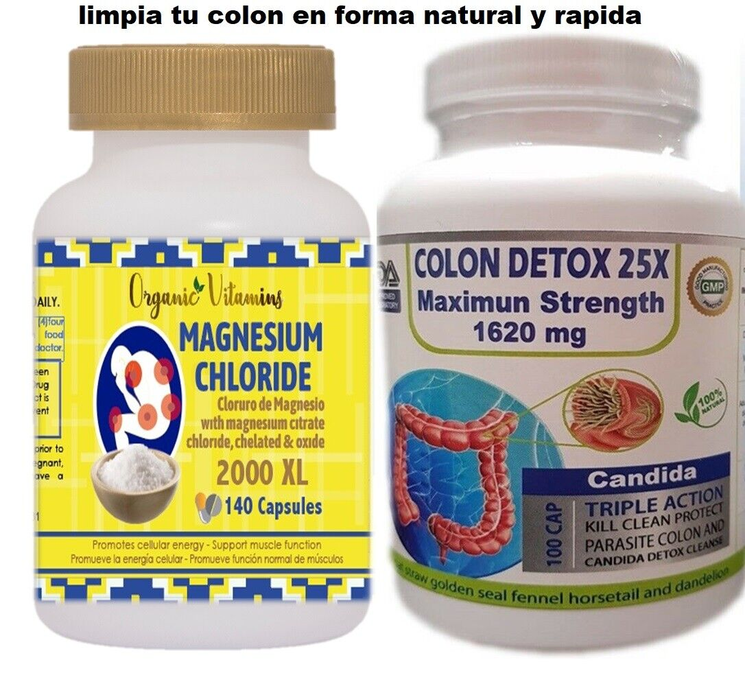 Colon cleanser combate estreñimiento, mala digestion limpieza del colon kit fast