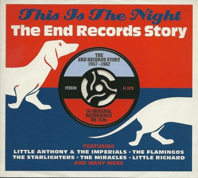 THIS IS THE NIGHT THE END RECORDS STORY 1957 - 1962 - 2 CD BOX SET