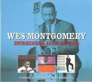 WES MONTGOMERY INCREDIBLE JAZZ GUITAR - 3 CD BOX SET