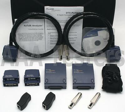 Fluke Networks Dtx-10gkit 10 Gigabit Axtalk Dtx-1800 Dtx Axtk1 Alien Crosstalk